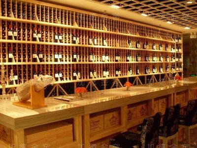 上海康宝莱酒庄-仿木酒柜