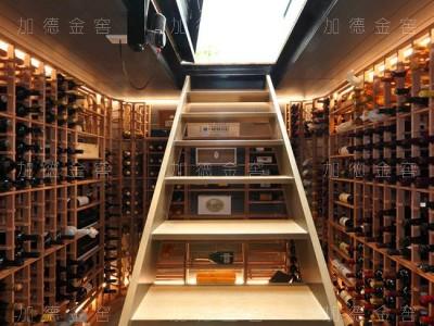 珠海私人住宅业主地下酒窖