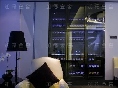 贵阳山水黔城业主嵌墙酒柜