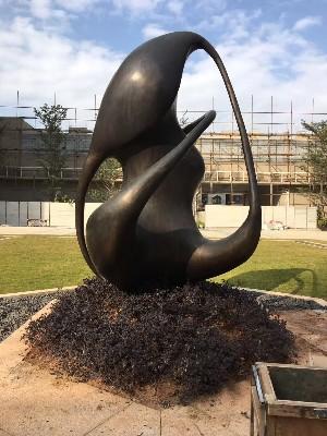 景区异形金属雕塑