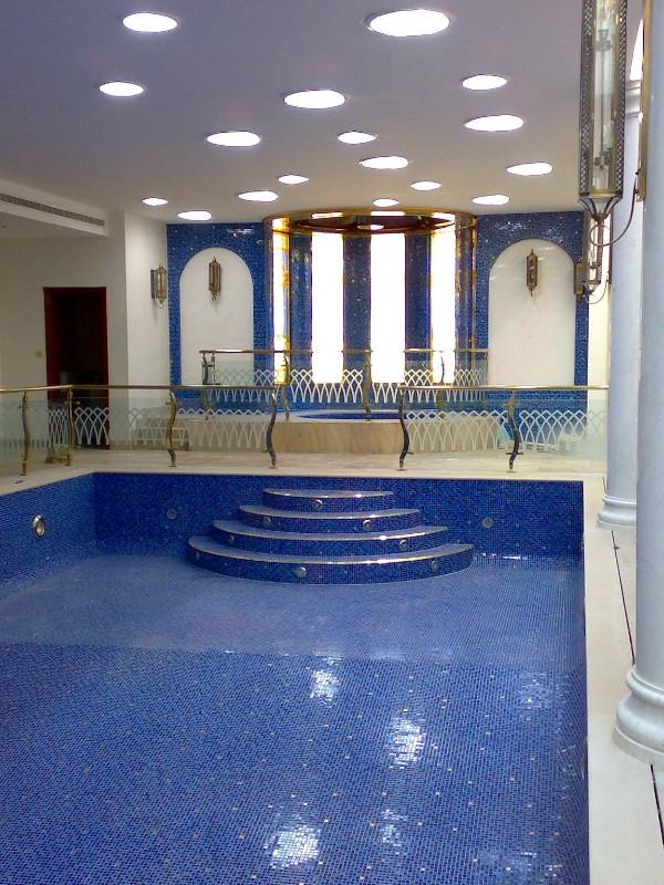 游泳池不锈钢护栏扶梯定制