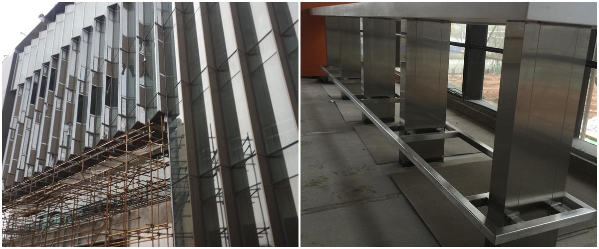 欧创为泰国六星级酒店——华尔道夫提供不锈钢屏风设计服务