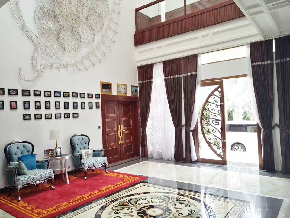 柬埔寨副首相私人豪宅采用欧创不锈钢定制装饰