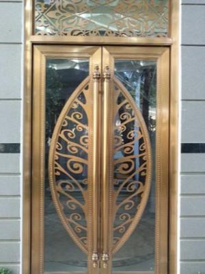 艺术门不锈钢加工