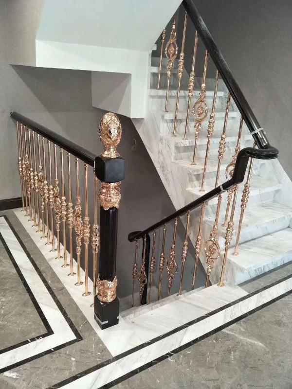 楼盘不锈钢扶手护栏定制