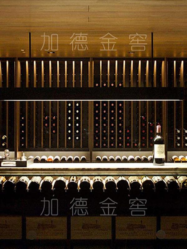 酒庄金属酒窖