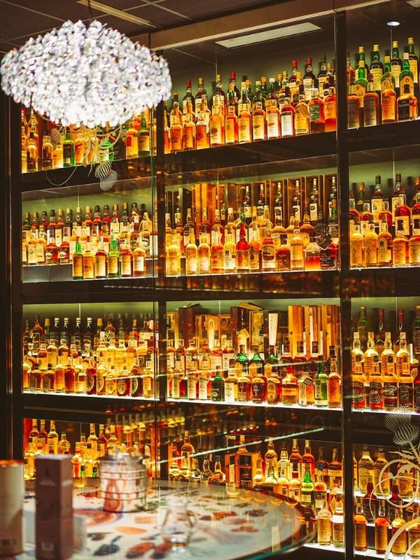 酒吧不锈钢酒柜酒架
