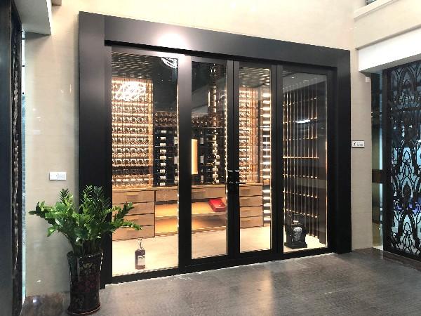 欧创展厅-不锈钢酒窖