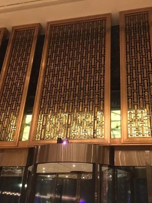 赌场不锈钢背景装饰墙定制