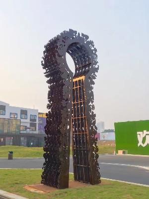 金属造型雕塑